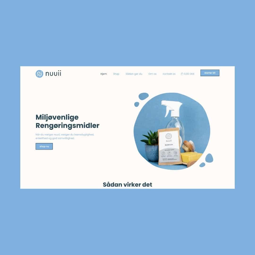 nuuii hjemmeside
