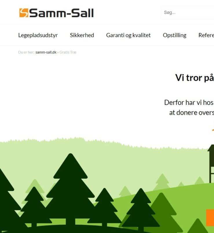 samm-sall hjemmeside